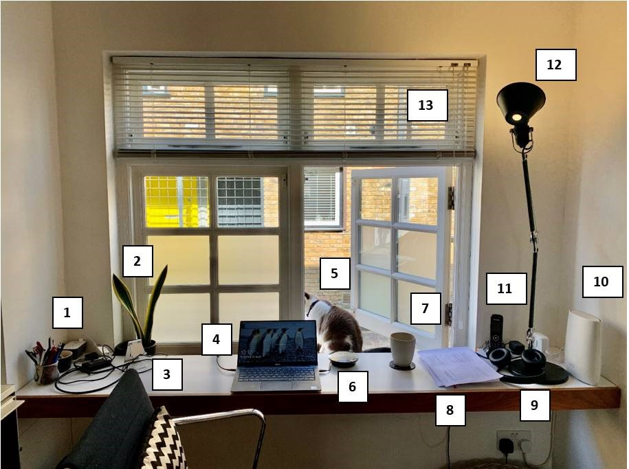 Darren's home office
