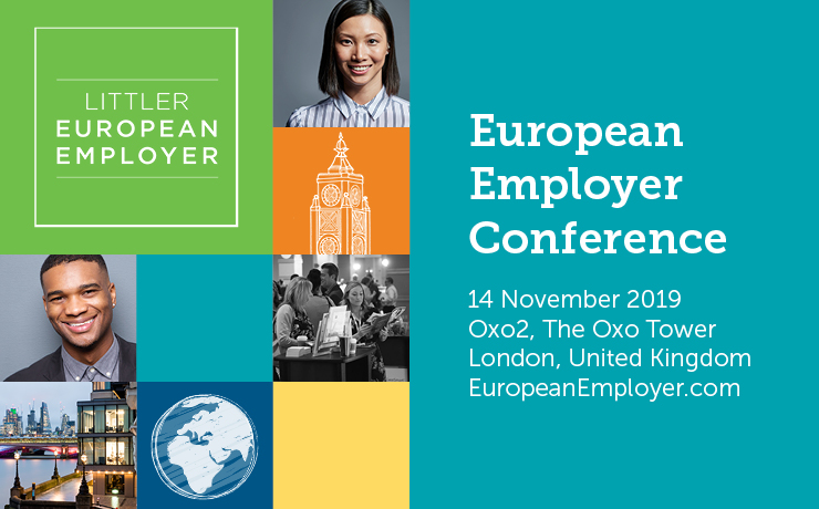 The inaugural Littler European Employer conference launches in London!
