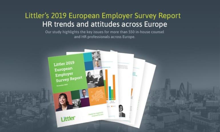 Littler's 2019 European Employer Survey Report