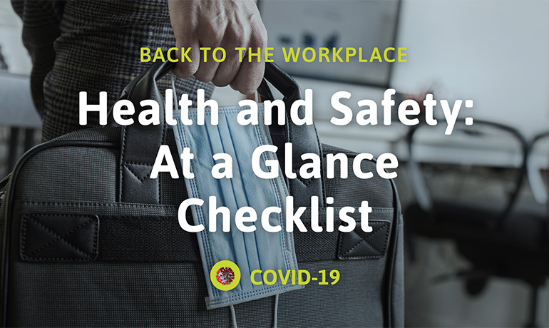 Health and Safety: At a Glance Checklist
