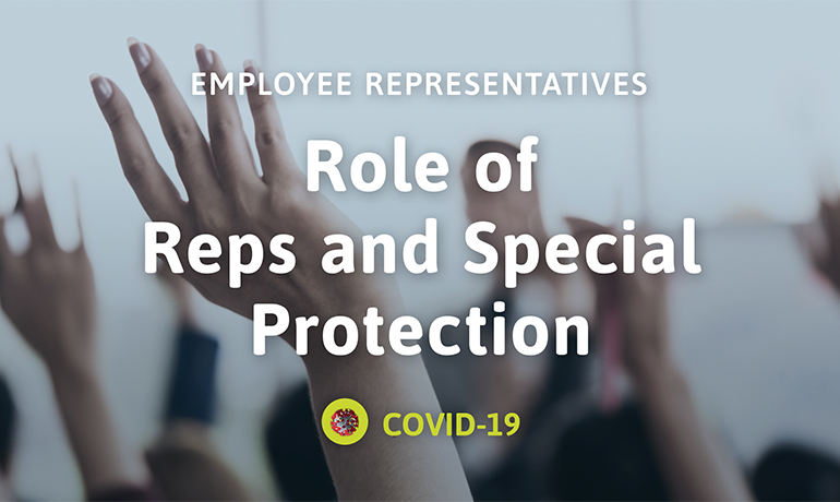 Role of Reps and Special Protection