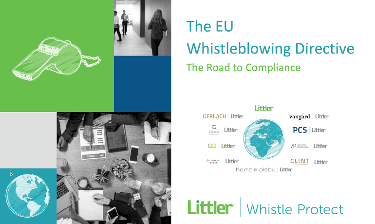 Littler | Whistle Protect – a partnership with WhistleB