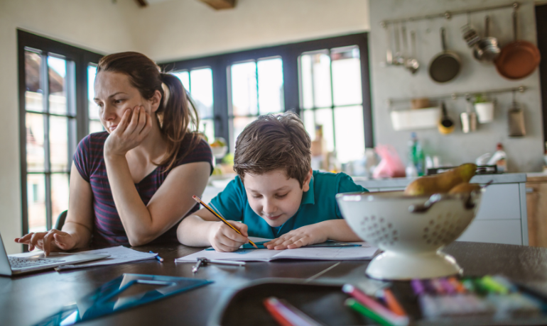 Freedom day? Working parents in the ping-demic
