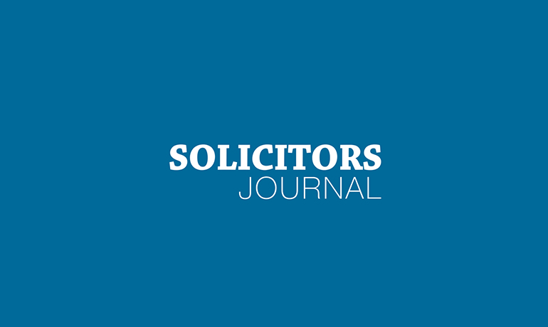 The Minority Report for the business world - Solicitors Journal
